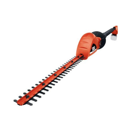 Factory Reconditioned Black & Decker LPHT120R 20V MAX Cordless Lithium-Ion 18 in. Extended Reach Dual Action Electric Hedge Trimmer