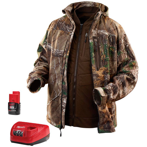Milwaukee 2387-XL 12V Lithium-Ion Heated 3-in-1 Jacket Kit