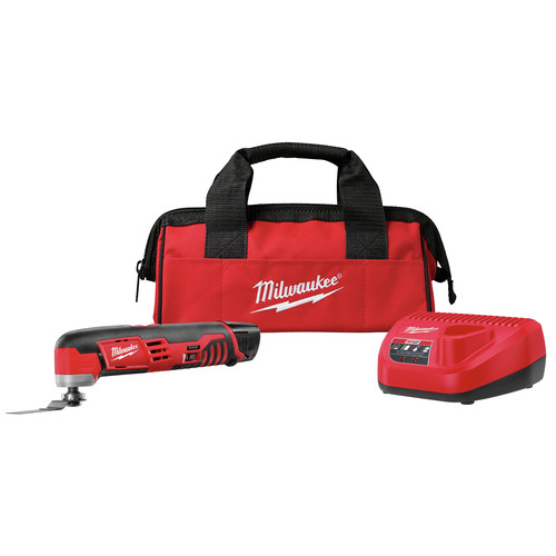 Milwaukee 2426-21 M12 Cordless Lithium-Ion Oscillating Multi-Tool Kit image number 0