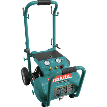 Makita MAC5200 3.0 HP 5.2 Gallon Oil-Lube Dolly Air Compressor