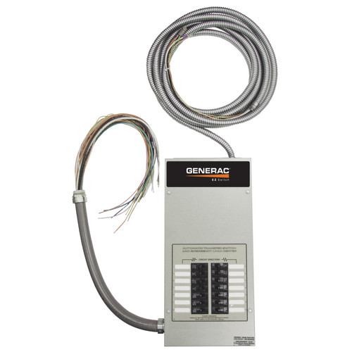 Generac RTS14EZA1 14 Circuit Pre-Wired EZ Switch with Built-In Load Center
