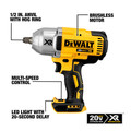 Dewalt DCF899HB 20V MAX XR Cordless Lithium-Ion 1/2 in. Brushless Friction Ring Impact Wrench (Tool Only) image number 1