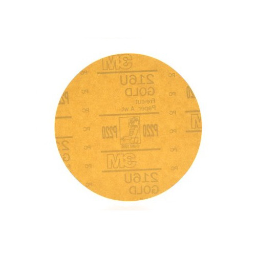 3M 978 Hookit Gold Disc, 6 in., P220A (50-Pack)
