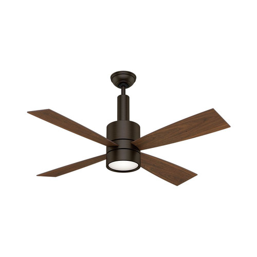 Casablanca 59069 Bullet 54 in. Contemporary Brushed Cocoa Burnt Walnut Indoor Ceiling Fan