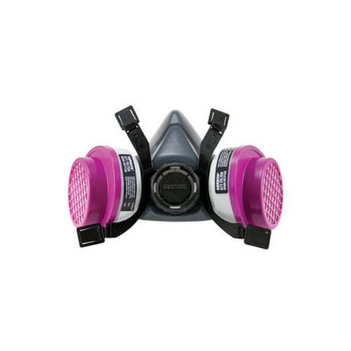 Gerson 9261 Professional Series Half-Mask Respirator with G71 OV/P100 Cartridge Kits