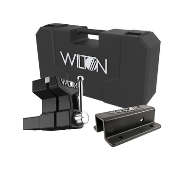 Wilton ATV All-Terrain Vise 6 in. Jaw Width 5-3/4 in. Jaw Opening 5 in. Throat Depth Kit with Carrying Case