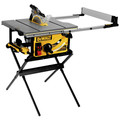 Dewalt DWE7491RS 10 in. 15 Amp  Site-Pro Compact Jobsite Table Saw with Rolling Stand image number 1