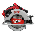Milwaukee 2992-22 M18 Lithium-Ion Brushless Cordless 1/2 in. Hammer Drill Driver / 7-1/4 in. Circular Saw Combo Kit (5 Ah) image number 2