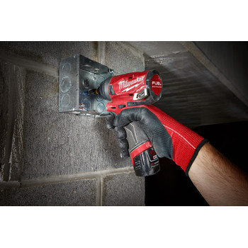 Milwaukee 2553-20 M12 FUEL 1/4 in. Hex Impact Driver (Tool Only) image number 9