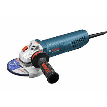 Factory Reconditioned Bosch GWS13-50VSP-RT 13 Amp 5 in. High-Performance Variable Speed Angle Grinder with Paddle Switch image number 0