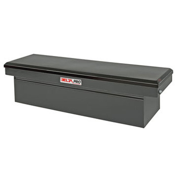 Delta PSC1457002 Steel Single Lid Deep & Extra-Wide Full-size Crossover Truck Box (Black)