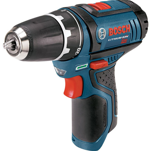 Bosch PS31BN 12V Max Lithium-Ion 3/8 in. Drill Driver (Bare Tool) with Exact-Fit Tool Insert Tray