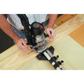 Porter-Cable 895PK 2 1/4 Peak HP Multi-Base Router Kit with Router Table Height Adjuster image number 3