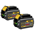 Dewalt DCB606-2 20V/60V MAX FLEXVOLT 6 Ah Lithium-Ion Battery (2-Pack) image number 2