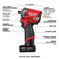 Milwaukee 2555P-22 M12 FUEL Stubby 1/2 in. Impact Wrench  Kit with Pin Detent image number 13