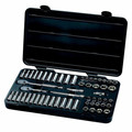 GearWrench 80550 57-Piece 3/8 in. Drive 6-Point SAE/Metric Socket Set