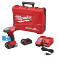 Milwaukee 2758-22CT M18 FUEL 18V 2.0 Ah Cordless Lithium-Ion 3/8 in. Compact Impact Wrench Kit with Friction Ring & ONE-KEY Connectivity