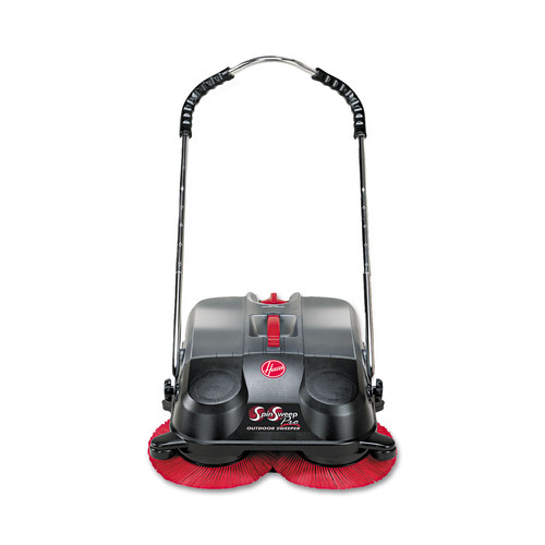 Hoover Commercial L1405 Spinsweep Pro Outdoor Sweeper, Black image number 0