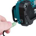 Makita RM02 12V max CXT Cordless Lithium-Ion Compact Job Site Radio (Tool Only) image number 3