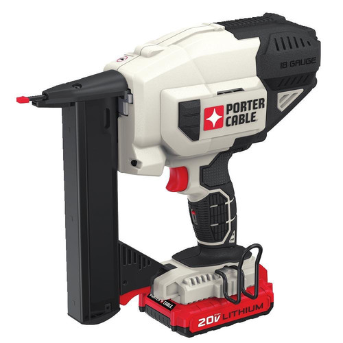 Porter-Cable PCC791LA 20V MAX Lithium-Ion 18 Gauge Narrow Crown Stapler Kit image number 0