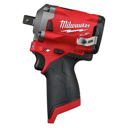 Milwaukee 2555P-20 M12 FUEL Stubby 1/2 in. Impact Wrench with Pin Detent (Bare Tool)