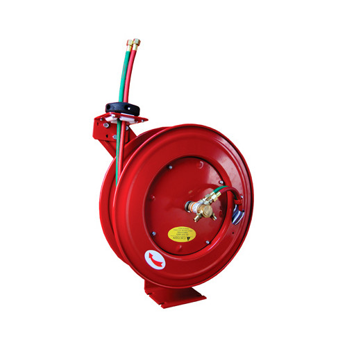 ATD 31170 1/4 in. x 50 ft. Retractable Twinline Hose Welding Reel