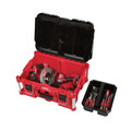 Milwaukee 8425-8431-BNDL PACKOUT Large Tool Box and Low-Profile Organizer Bundle image number 5