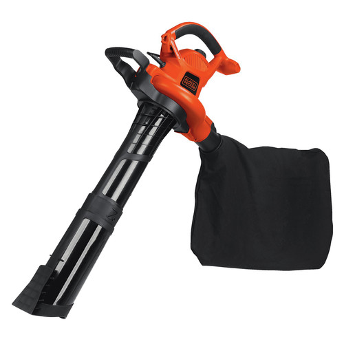 Black & Decker BV6000 12 Amp High Performance Two Speed Handheld Electric Mulcher Blower Vac