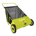 Sun Joe SJSW26M 26 in. Manual Push Lawn Sweeper