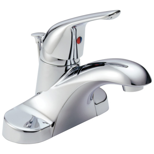 Delta B510LF 1-Handle Centerset Bathroom Faucet (Chrome) image number 0