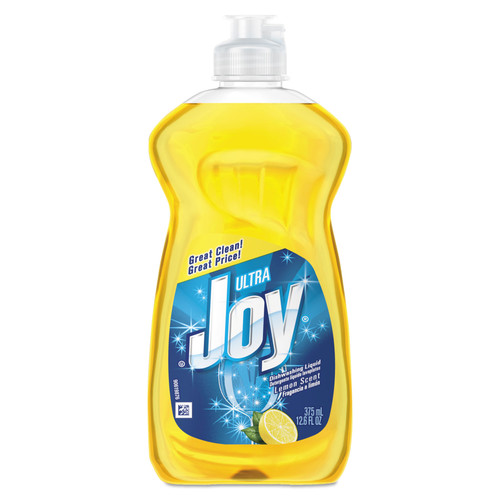 Joy 00614 Dishwashing Liquid, Lemon, 12.6 Oz Bottle, 25/carton image number 0