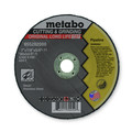 Metabo 655282000 7 in. x 1/8 in. A24T Type 27 Pipeline Grinding/Notching/Cutting Wheels (10-Pack)