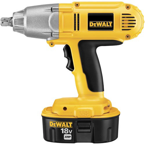 Factory Reconditioned Dewalt DW059K-2R 18V XRP Cordless 1/2 in. Impact Wrench Kit