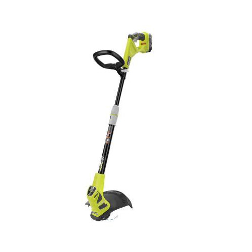 Factory Reconditioned Ryobi ZRP2210 ONE Plus 18V Cordless Hybrid Lithium-Ion 12 in. Straight Shaft String Trimmer