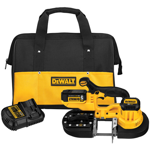 Dewalt DCS371P1 20V MAX Cordless Lithium-Ion Band Saw Kit image number 0