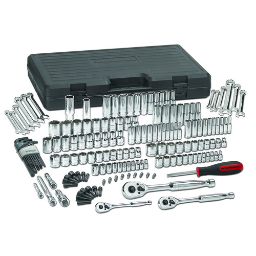 GearWrench 80932 165-Piece SAE/Metric Multi-Drive 6 & 12 Point Socket and Wrench Set