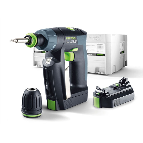 Festool CXS 10.8V 2.6 Ah Cordless Lithium-Ion 3/8 in. Drill Driver