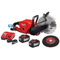 Milwaukee 2786-22HD M18 FUEL Lithium-Ion 9 in. Cut-Off Saw Kit with ONE-KEY (12 Ah) image number 2