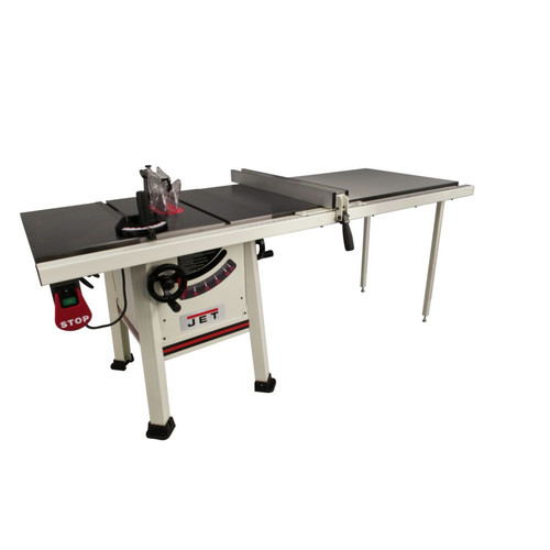 JET JPS-10TS 1-3/4 HP 10 in. Single Phase Left Tilt ProShop Table Saw with 52 in. ProShop Fence and Riving Knife