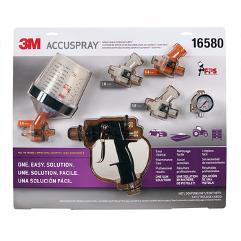3M 16580 PPS Accuspray Spray Gun System image number 0