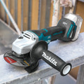 Makita XAG11Z 18V LXT Lithium-Ion Brushless Cordless 4-1/2 / 5 in. Paddle Switch Cut-Off/Angle Grinder with Electric Brake (Tool Only) image number 2