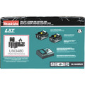 Makita BL1840BDC2 18V LXT Lithium-Ion Battery and Rapid Optimum Charger Starter Pack (4 Ah) image number 5