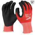 Milwaukee 48-22-8904B 12-Piece Cut Level 1 Nitrile Dipped Gloves - 2XL image number 0