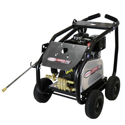 Simpson 65209 4400 PSI 4.0 GPM Belt Drive Medium Roll Cage Professional Gas Pressure Washer with Comet Pump image number 0