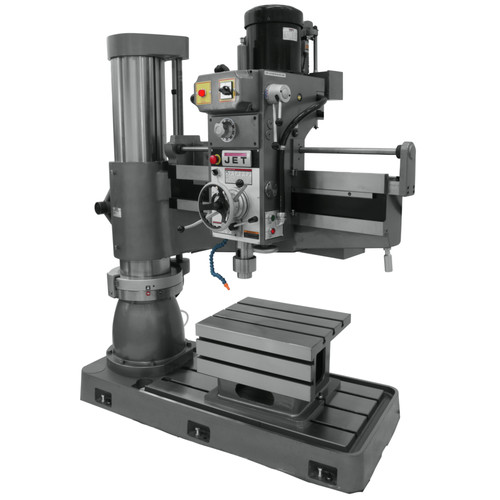JET J-1230R 230V 5HP 4 ft. Radial Drill Press image number 0