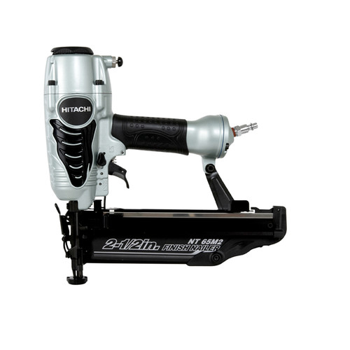 Factory Reconditioned Hitachi NT65M2S 16-Gauge 2-1/2 in. Oil-Free Straight Finish Nailer Kit