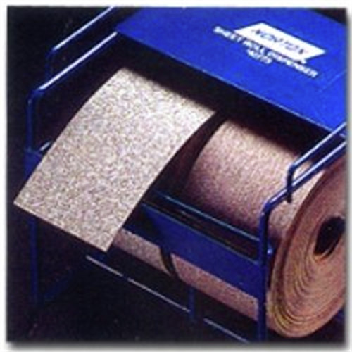 Norton 31687 Champagne Magnum AO 2-3/4 in. x 45 Yd. 180 Fine Grit Sanding Paper Roll image number 0