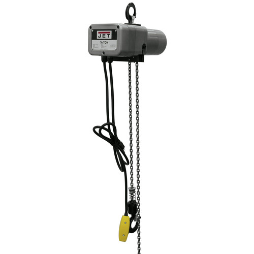 JET JSH-275-20 1/8 Ton Capacity 20 ft. Lift Electric Hoist