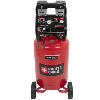 Porter-Cable PXCMSAC420VW 1.5 HP 20 Gallon Quiet Vertical Air Compressor