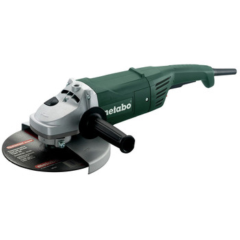 Metabo US606420760 9 in. 6,600 RPM 15.0 Amp Angle Grinder image number 0